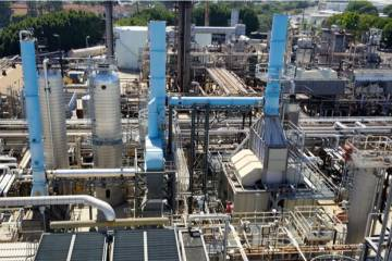 World Energy's sustainable fuel refinery in Paramount, Calif.