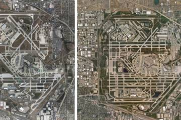 images showing development of KORD over the past decade