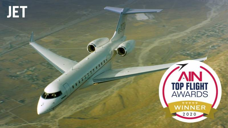 Announcing the Top Flight Awards Jet Category Winner