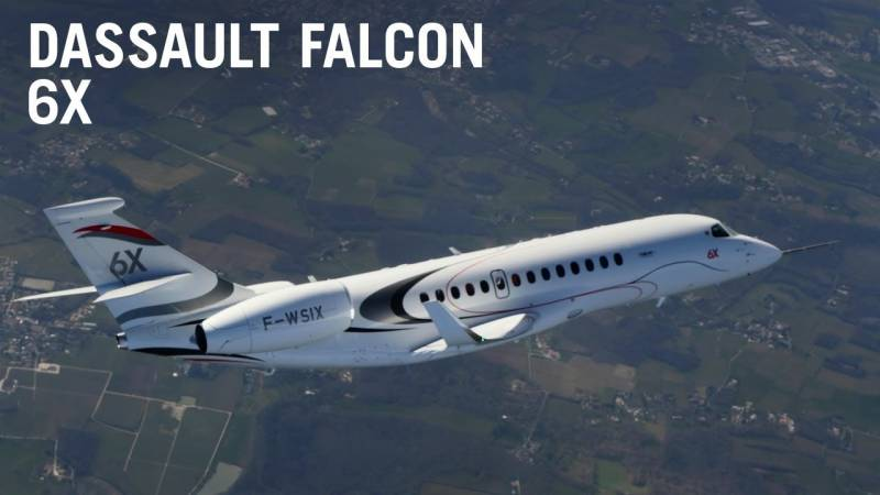 Dassault's Falcon 6X Business Jet Flies For the First Time