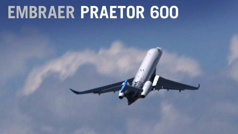 Embraer's Praetor 600 Flies at Paris Air Show 2019