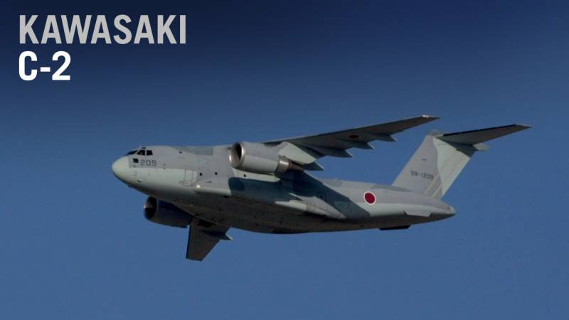 Kawasaki Shows Off its C-2 Military Transporter in Dubai - AIN