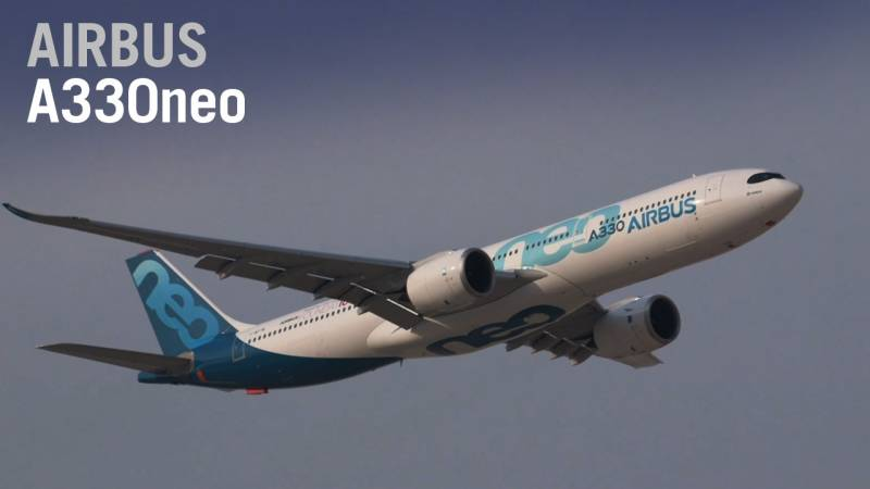 Airbus's A330neo Flies at the Dubai Airshow - AIN