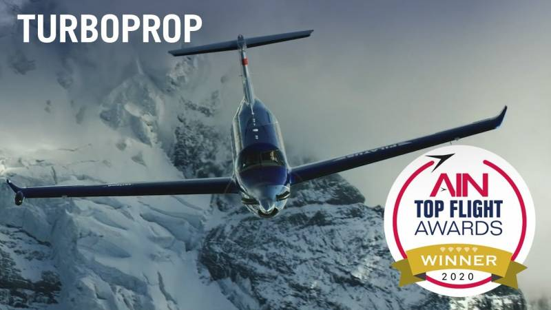 Announcing the Top Flight Awards Turboprop Category Winner