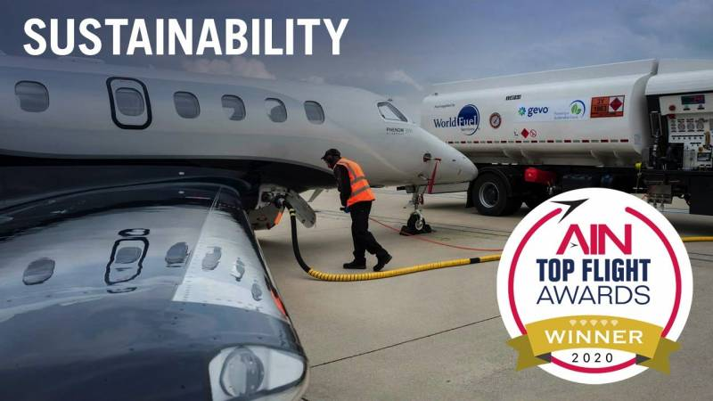 Announcing the Top Flight Awards Sustainability Category Winner